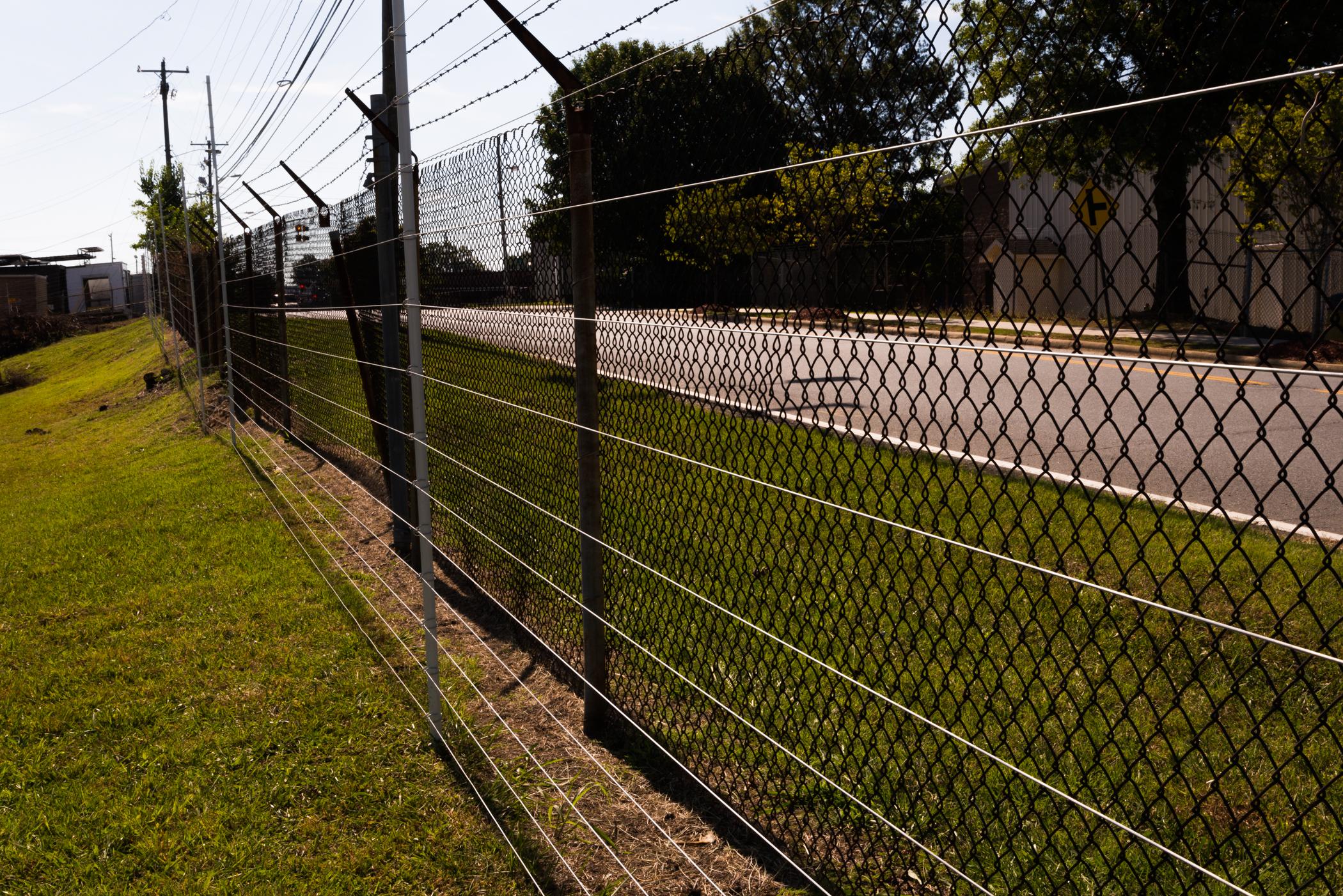 Perimeter security fence northern va north