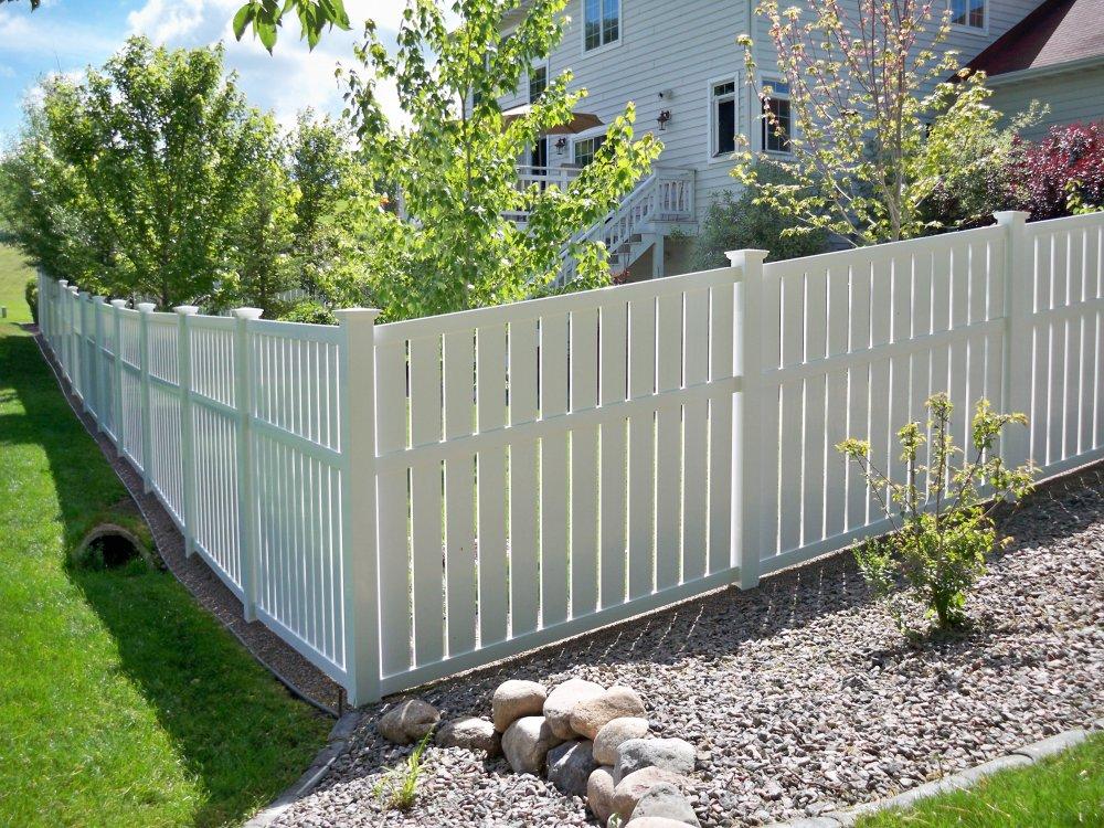 Vinyl Semi Privacy Contractor Northern Va North Va Fence