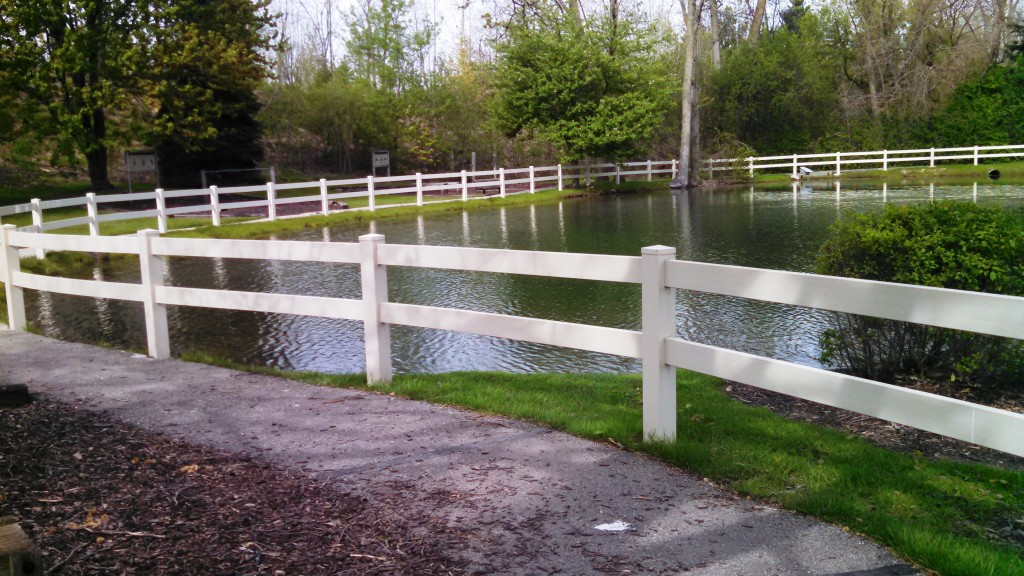 Vinyl Post And Rail Contractor Service Northern Virginia