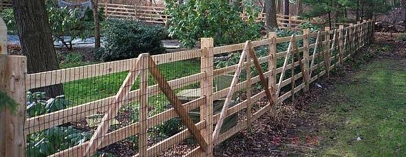 English Hurdle Fencing