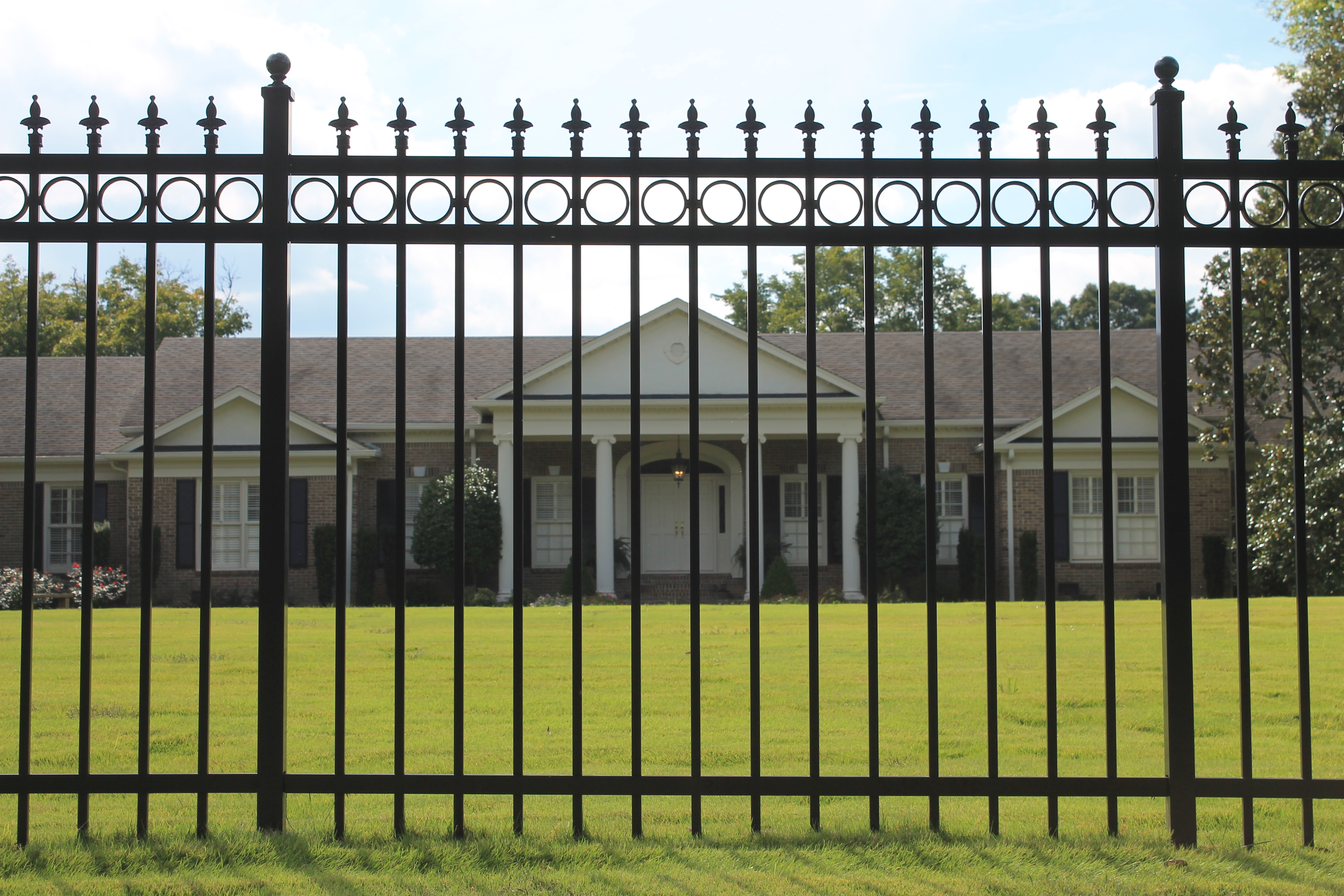 3 Rail Aluminum Fence Fairfax VA Reston