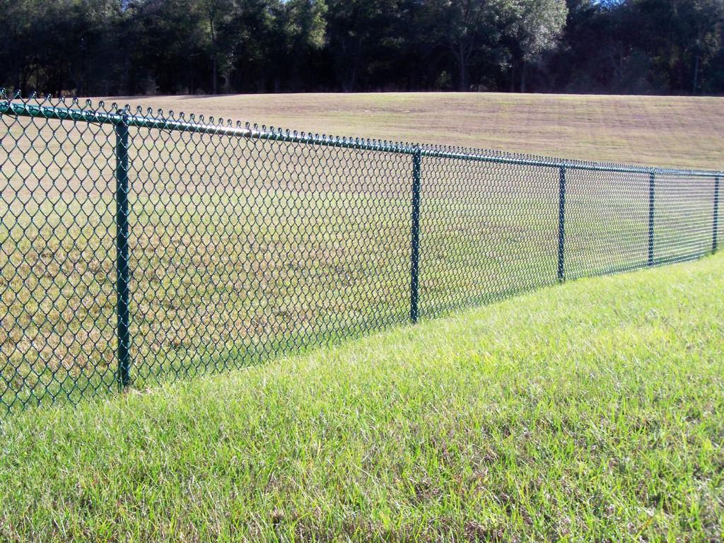 Black Vinyl Coated Fence Contractor Burke VA