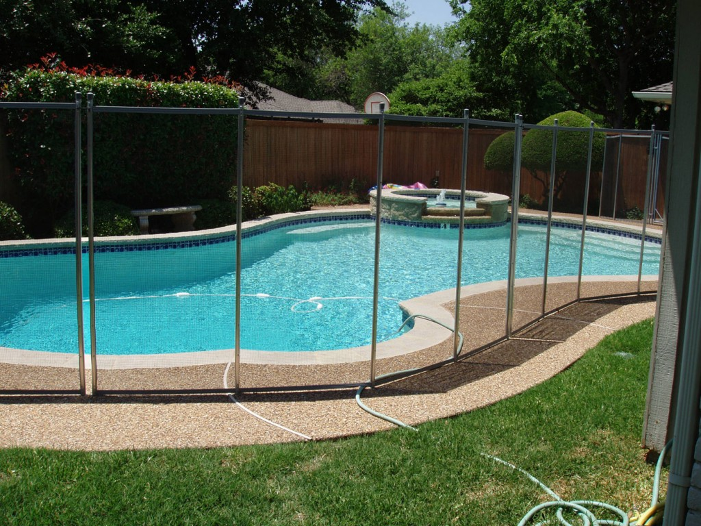 Pool Fence Example Herndon Virginia