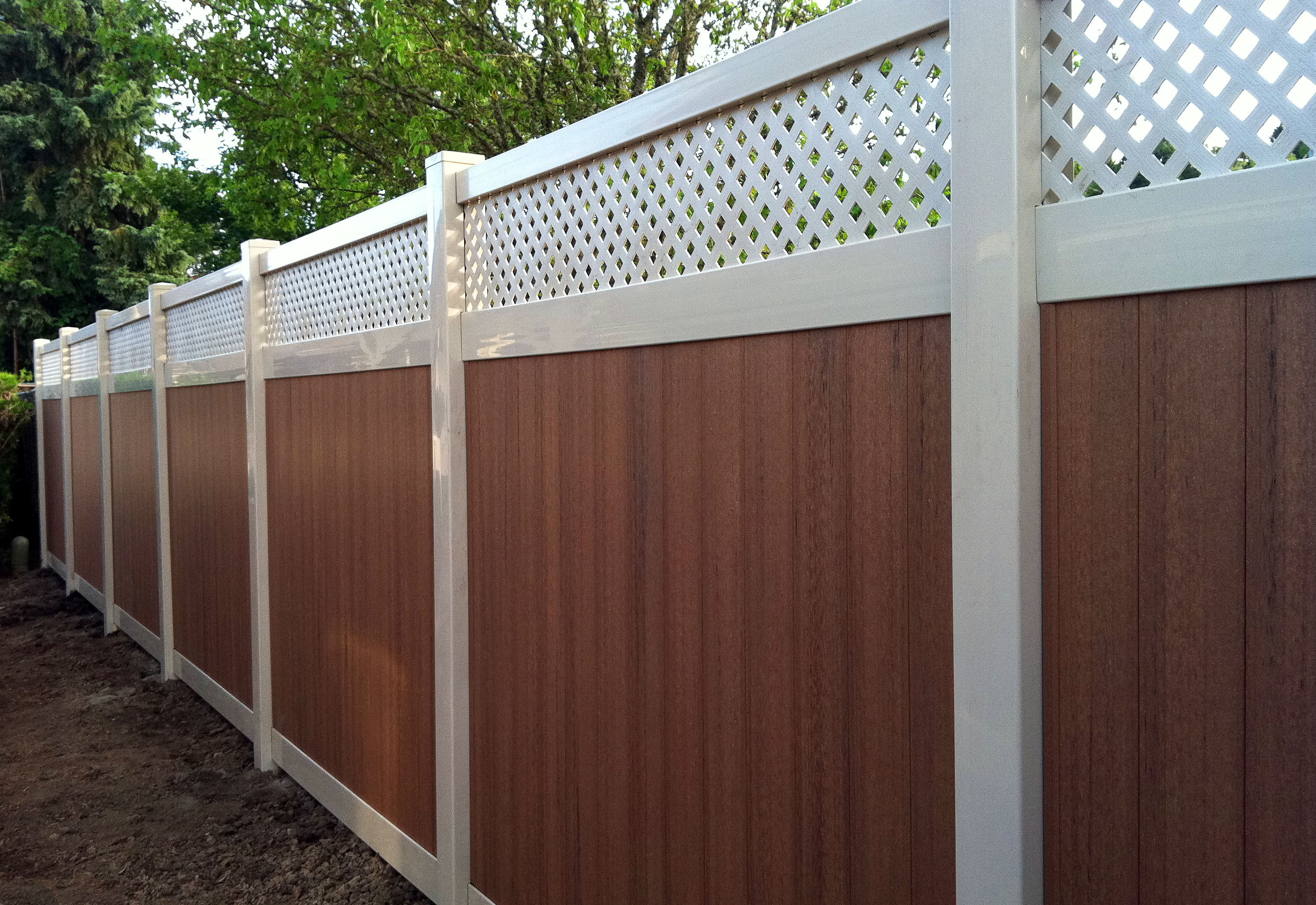 Vinyl Fence Example Northern VA Burke VA