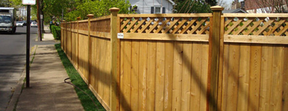 Lattice Top Fencing