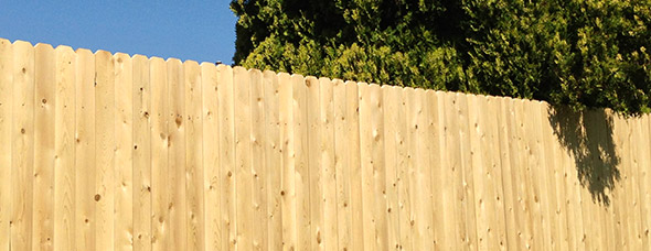 Solid Board Fencing