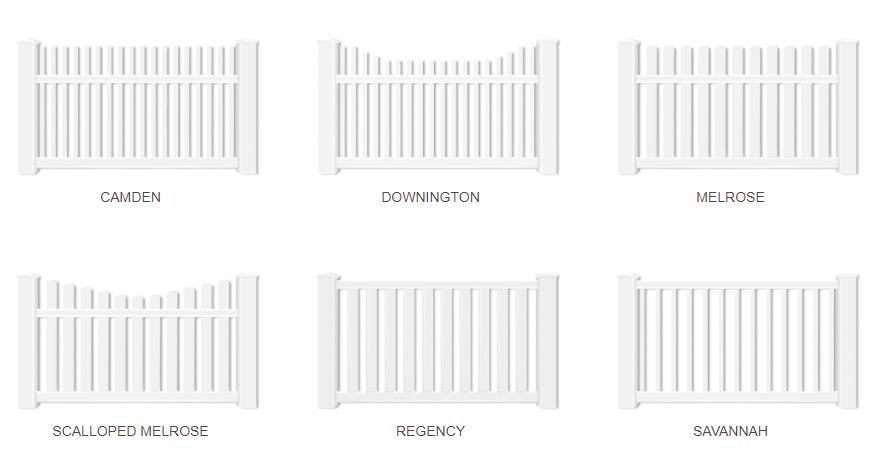 Vinyl Picket Fence Contractor Services Amp Installation